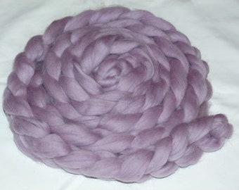"Skinny Mini Newborn Braided Wool Bowl-   ""Lavender ---Ready To Ship---"