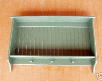 Traditional Pine Plate Rack Holder Wall Rack Display Shelf