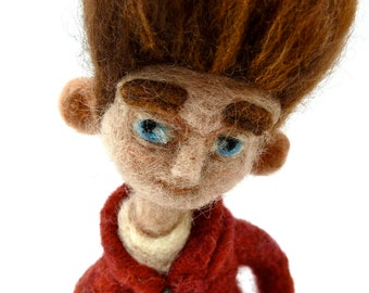ParaNorman, Wool Collectable Figurine, Felted ParaNorman Character