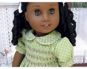 Hand Smocked American Girl Dress 18 Inch Doll