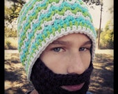 Crochet Beard Pattern Only - Instant Download