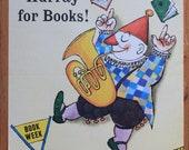 Wonderful original vintage Book Week poster designed by Maurice Sendak 1960