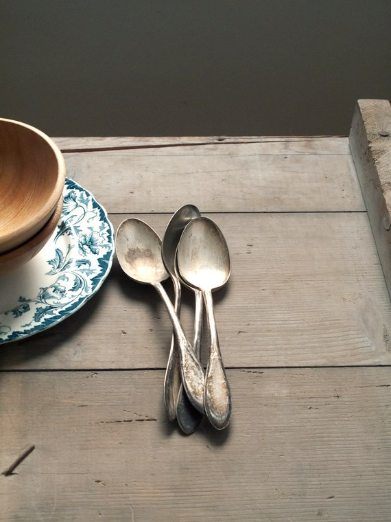 vintage soup spoons
