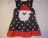 Private listing for Amanda Payne only Boutique Girls Santa Dress sizes 6  months to 5t soo cute great for those Santa Pictures