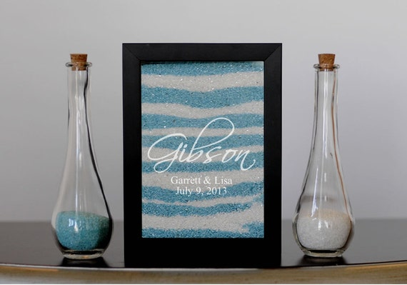 Unity Sand Frame with Engraving