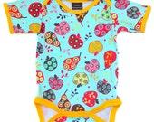 Handmade / Bodysuit / baby clothes  - Fancy Fruit