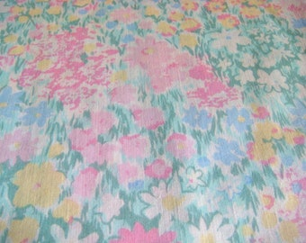 Reclaimed Watercolor Cotton Fabric 2 yards