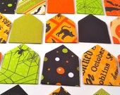 Secret Mini Halloween Print Envelope Stationary Set - 10