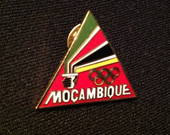 Mozambique NOC Pin - Olympic Pins For Sale