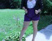 High Waisted Bloomers - Purple