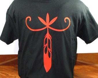 NorthEasternWoodland Original Native American design cotton t-shirt