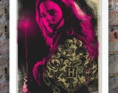 Harry Potter Inspired Print (Heroes Series: Hermione) A3