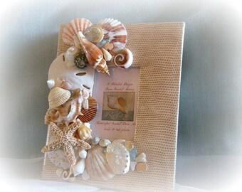 Fond Memories Seashell Photo Album