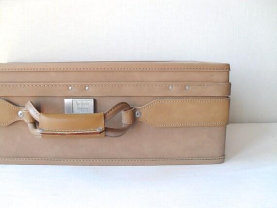 Vintage Leather Hartmann Suitcase