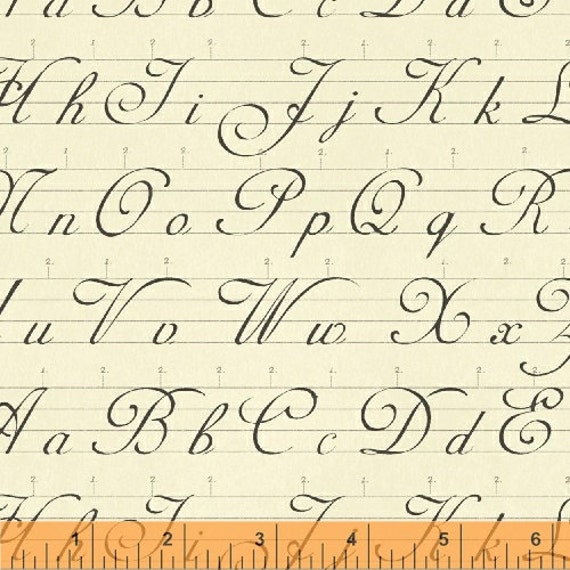 Windham books and letters antique alphabet for Antique letters