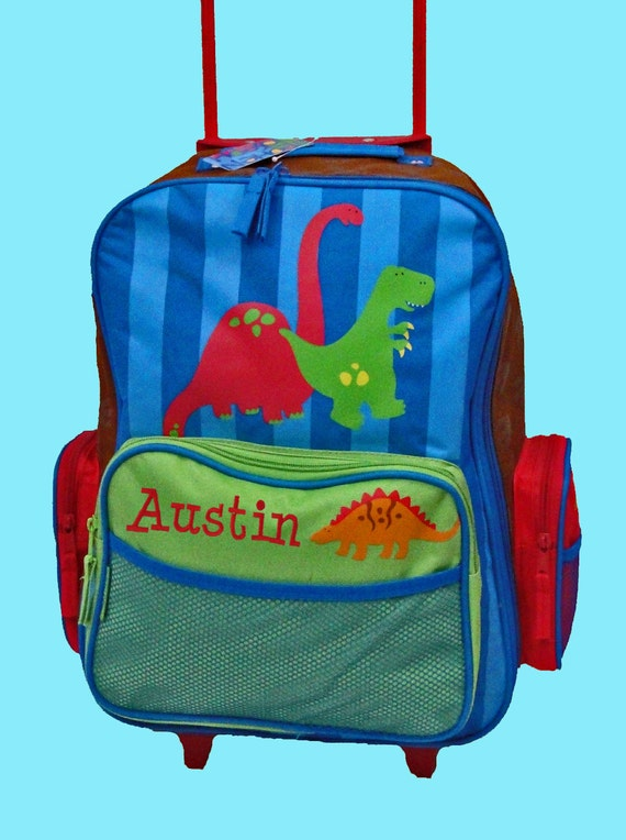 Stephen Joseph Personalized Rolling Luggage Personalized Stephen Joseph
