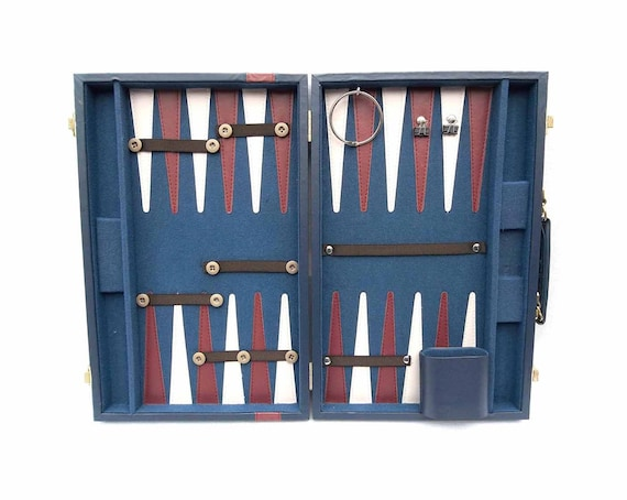 Accessory Case from Upcycled Backgammon Game