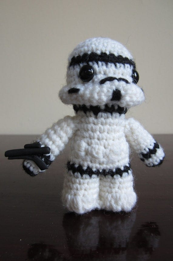 Items similar to Star Wars Amigurumi - Stormtrooper on Etsy