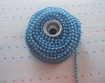 Small Turquoise Pearl Trim, 4 mm - 24 Yards