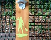 Paddleboarder Wall-mount Bottle Opener