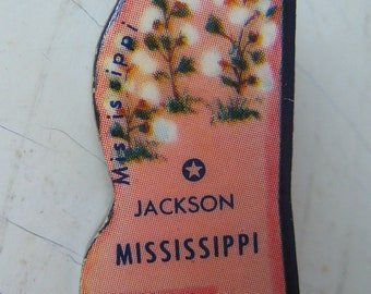 Mississippi Vintage Puzzle Pin
