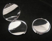 Lot of 50 Blank Large Compact Mirrors - DESTASH - Lower Price To Sell