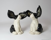 Dutch Bunny Rabbit Wedding Cake Toppers - made to order