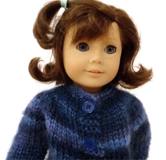 Blue Striped Sweater American Girl Doll
