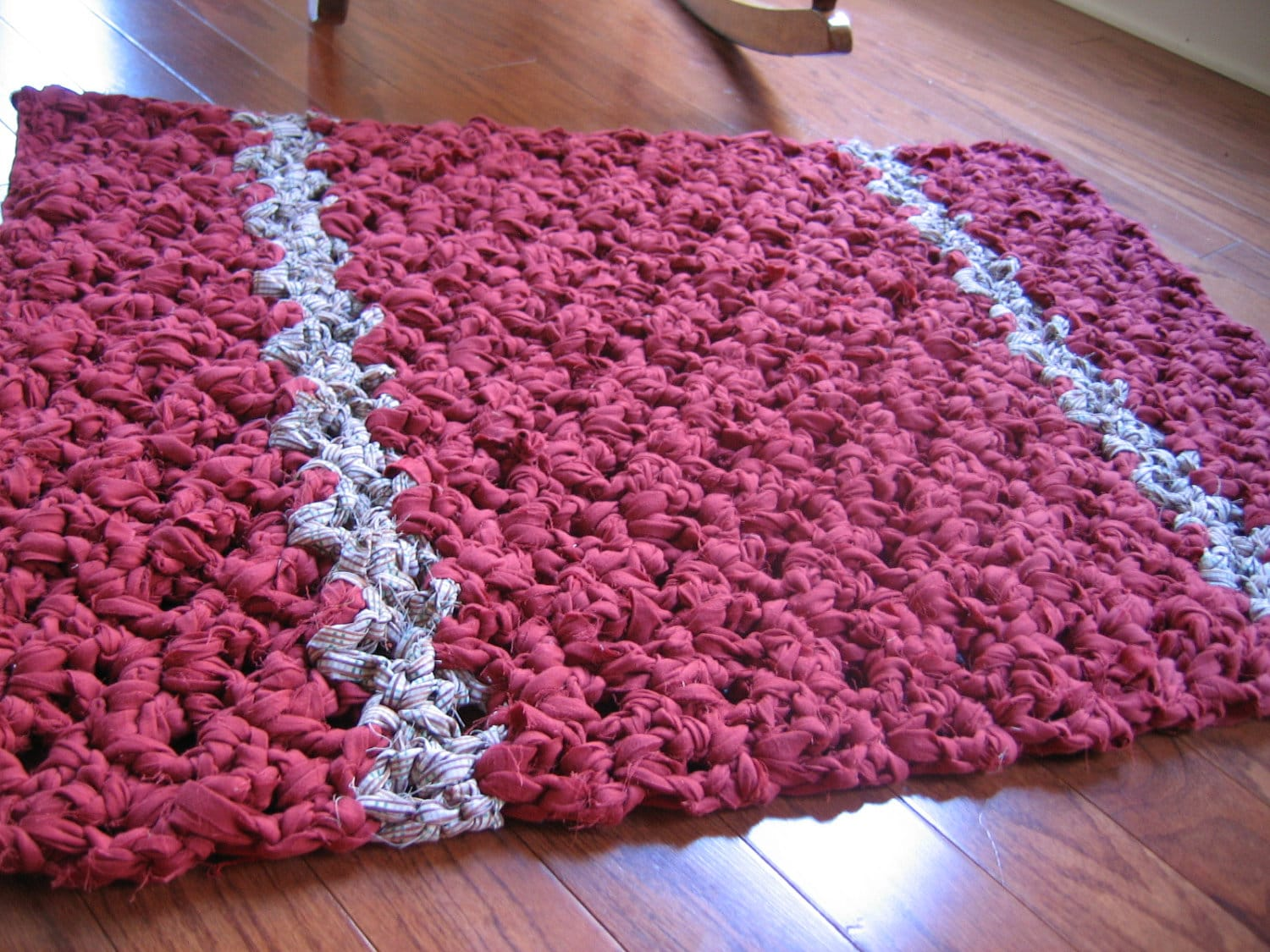 Versatile Rag Crochet Rug Pattern by RaggedyAnns on Etsy