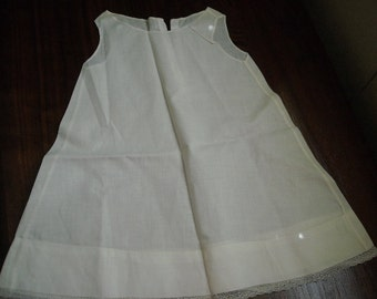 Vintage Sleeveless Baby Dress