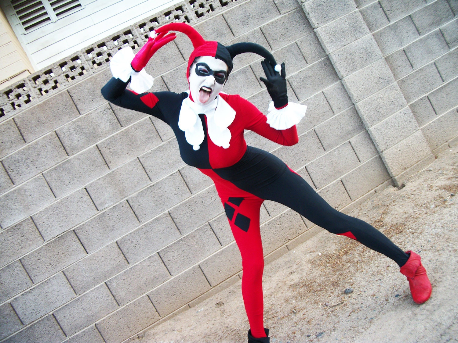 Harley Quinn Classic Costume By Cleighcreations On Etsy