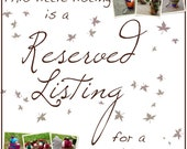 Reserved Listing for JENN - Babywearing Mama Gnome