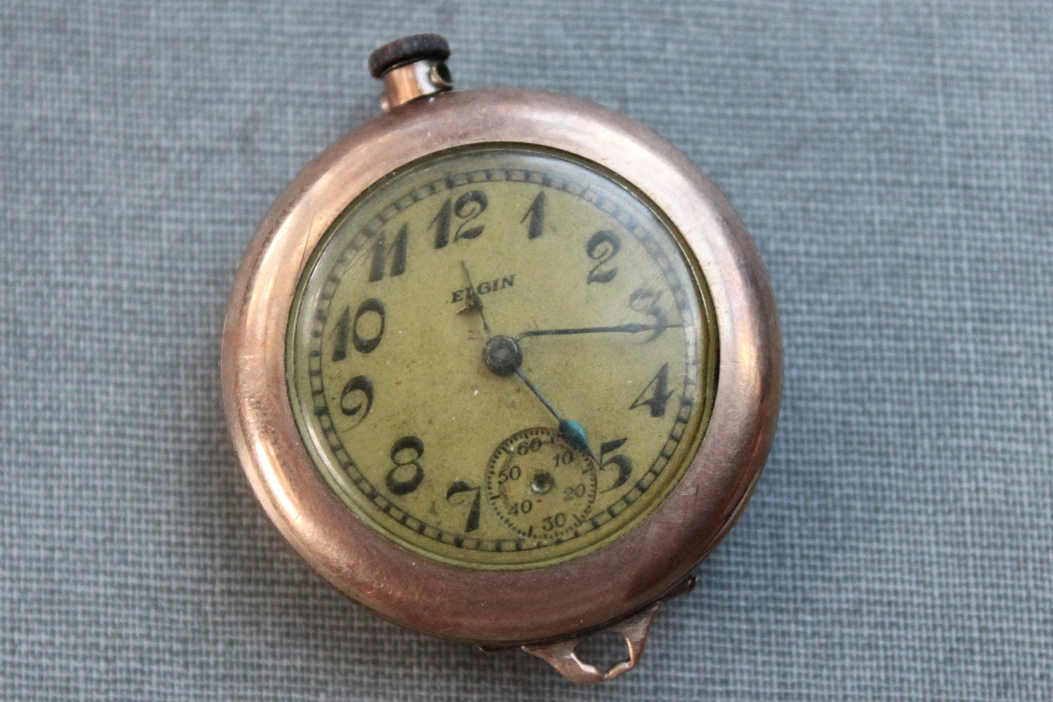 antique gold elgin pocket