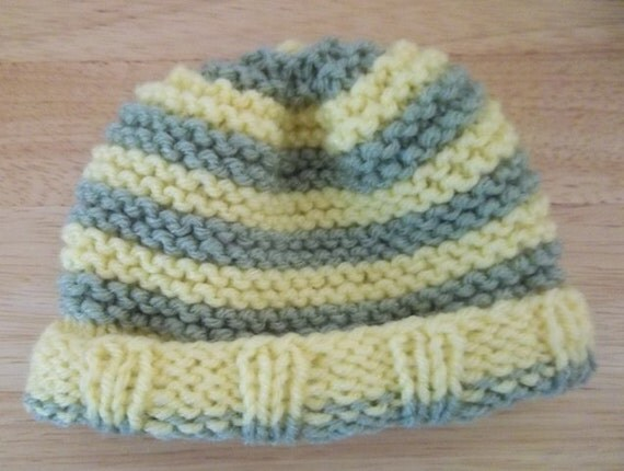 Knitted Hat for Newborn Baby / Preemie Hat