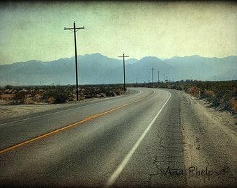 Desert Drive. Fine Art Photography