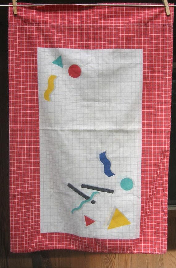 PIllowcase, Graph paper Geometric Shapes