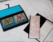 Vintage Bridge Game Set FREE SHIPPING