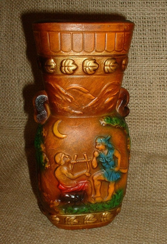 SALE ... WAS 24.00  Unique Vintage Vase with Story to Tell