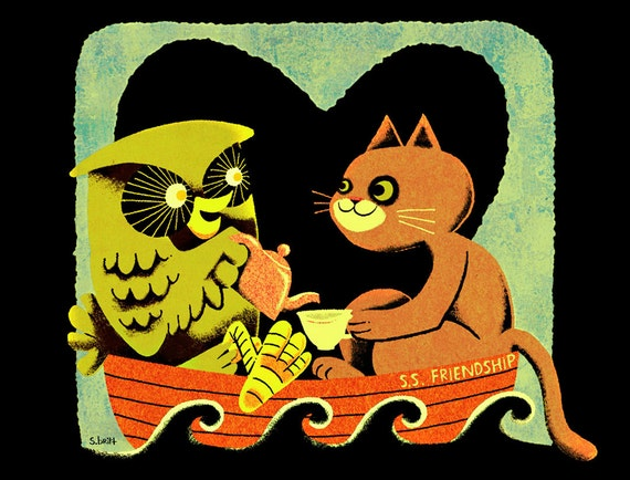 Oh Sweet Owl - Limited Edition Print