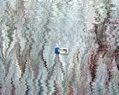 marmorpapier  Bookbinding papier marbrè  marbled paper . carta marmorizzata cm 50 x 63  -      5212