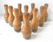Old Toy Bowling Pins