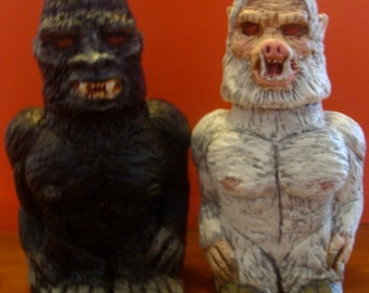 Bigfoot  And Pigman S/P shakers(standard Size)*Made To Order*