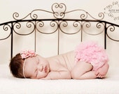 Chiffon Ruffle Bum Baby Bloomer -Photo Prop- 13 Colors to Choose from-MY2LILPIXIES