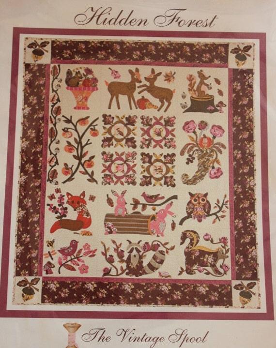 Hidden Forest Heirloom Quilt Pattern Verna Mosquera The