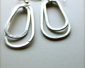 Hammered Aluminum Earrings