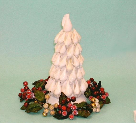 Beach Christmas Tree - Tabletop Shell Tree - Ready to Ship