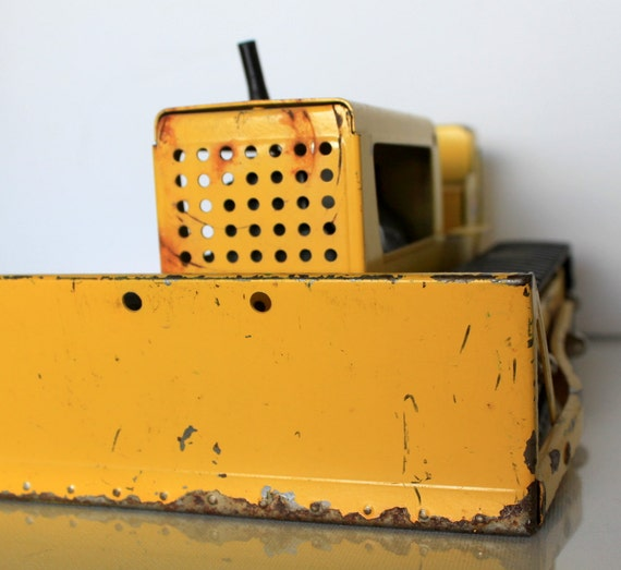 Antique Tonka Bulldozer By Uptown Vintage