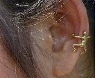 Ear Cuff Brass Jewelry