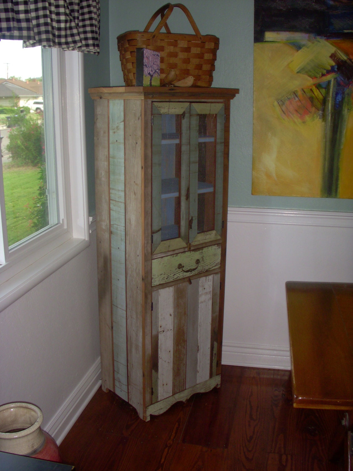 distressed rustic home decor reclaimed wood furniture red and turquoise distressed home decor trend home