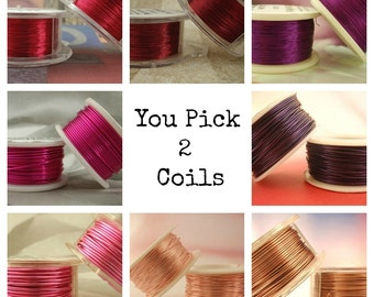 26 gauge Wire Special - YOU Pick 2 - Enameled Coated Copper